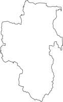 大阪府富田林市(とんだばやしし)の白地図無料ダウンロード