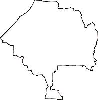 大阪府寝屋川市(ねやがわし)の白地図無料ダウンロード