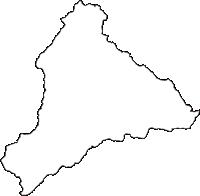 大阪府河内長野市(かわちながのし)の白地図無料ダウンロード