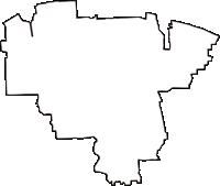 大阪府松原市(まつばらし)の白地図無料ダウンロード
