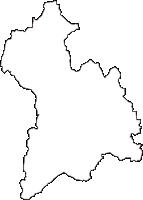 大阪府箕面市(みのおし)の白地図無料ダウンロード