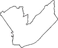 大阪府摂津市(せっつし)の白地図無料ダウンロード