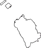 大阪府泉南市(せんなんし)の白地図無料ダウンロード