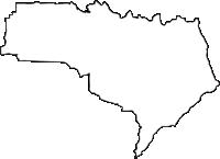 大阪府四條畷市(しじょうなわてし)の白地図無料ダウンロード