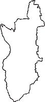 大阪府大阪狭山市(おおさかさやまし)の白地図無料ダウンロード
