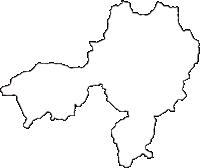 大阪府豊能郡豊能町(とよのちょう)の白地図無料ダウンロード