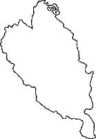 大阪府泉南郡熊取町(くまとりちょう)の白地図無料ダウンロード