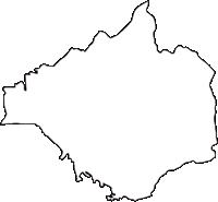 大阪府南河内郡太子町(たいしちょう)の白地図無料ダウンロード