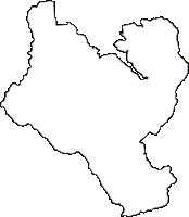 大阪府南河内郡千早赤阪村(ちはやあかさかむら)の白地図無料ダウンロード