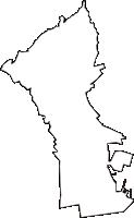 兵庫県神戸市兵庫区(ひょうごく)の白地図無料ダウンロード