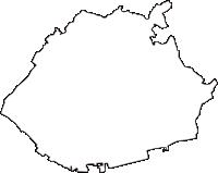 兵庫県神戸市垂水区(たるみく)の白地図無料ダウンロード