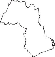 兵庫県洲本市(すもとし)の白地図無料ダウンロード