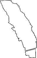 兵庫県芦屋市(あしやし)の白地図無料ダウンロード