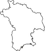 兵庫県加古川市(かこがわし)の白地図無料ダウンロード
