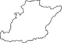 兵庫県西脇市(にしわきし)の白地図無料ダウンロード