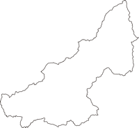 兵庫県三木市(みきし)の白地図無料ダウンロード