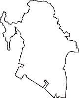 兵庫県高砂市(たかさごし)の白地図無料ダウンロード