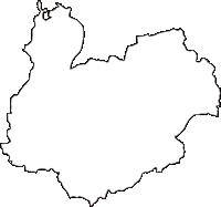 兵庫県小野市(おのし)の白地図無料ダウンロード