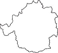 兵庫県三田市(さんだし)の白地図無料ダウンロード