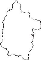 兵庫県加西市(かさいし)の白地図無料ダウンロード