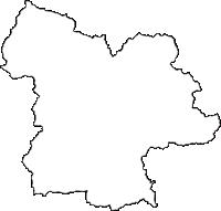兵庫県丹波市(たんばし)の白地図無料ダウンロード
