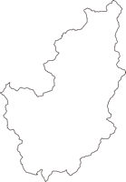 兵庫県朝来市(あさごし)の白地図無料ダウンロード