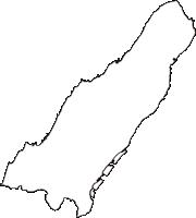 兵庫県淡路市(あわじし)の白地図無料ダウンロード