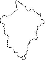 兵庫県宍粟市(しそうし)の白地図無料ダウンロード