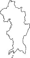兵庫県たつの市(たつのし)の白地図無料ダウンロード