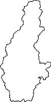 兵庫県多可郡多可町(たかちょう)の白地図無料ダウンロード