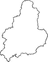 兵庫県佐用郡佐用町(さようちょう)の白地図無料ダウンロード