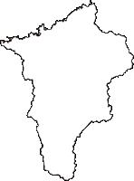 兵庫県美方郡新温泉町(しんおんせんちょう)の白地図無料ダウンロード