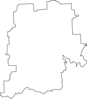 奈良県橿原市(かしはらし)の白地図無料ダウンロード