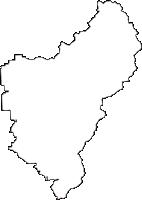奈良県桜井市(さくらいし)の白地図無料ダウンロード