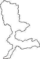 奈良県五條市(ごじょうし)の白地図無料ダウンロード