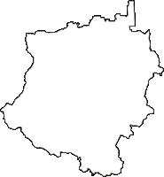 奈良県御所市(ごせし)の白地図無料ダウンロード