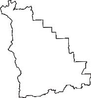 奈良県葛城市(かつらぎし)の白地図無料ダウンロード