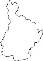 奈良県生駒郡斑鳩町(いかるがちょう)の白地図無料ダウンロード