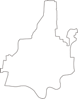 奈良県生駒郡安堵町(あんどちょう)の白地図無料ダウンロード