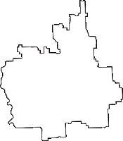 奈良県磯城郡田原本町(たわらもとちょう)の白地図無料ダウンロード