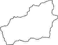 奈良県宇陀郡御杖村(みつえむら)の白地図無料ダウンロード