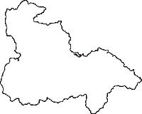 奈良県高市郡高取町(たかとりちょう)の白地図無料ダウンロード