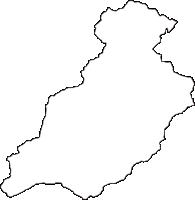 奈良県吉野郡野迫川村(のせがわむら)の白地図無料ダウンロード