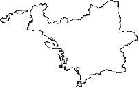 和歌山県和歌山市(わかやまし)の白地図無料ダウンロード
