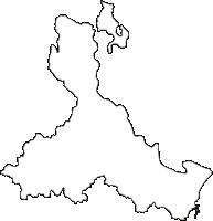 和歌山県新宮市(しんぐうし)の白地図無料ダウンロード