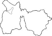 和歌山県伊都郡九度山町(くどやまちょう)の白地図無料ダウンロード