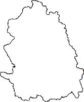 和歌山県東牟婁郡古座川町(こざがわちょう)の白地図無料ダウンロード