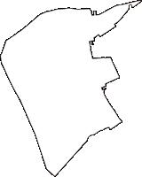 鳥取県境港市(さかいみなとし)の白地図無料ダウンロード