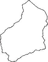 島根県安来市(やすぎし)の白地図無料ダウンロード