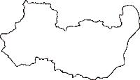 広島県広島市安佐南区(あさみなみく)の白地図無料ダウンロード